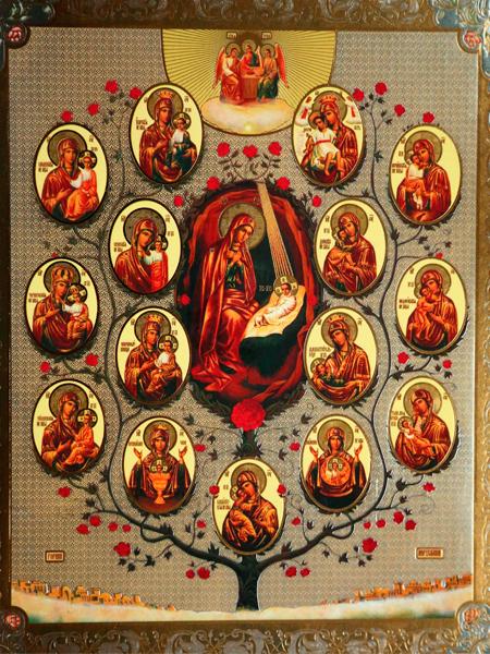 Древо Пресвятой Богородицы
